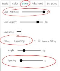 graph settings